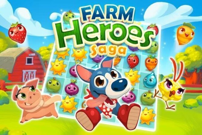 farm heroes saga تحميل مجانا